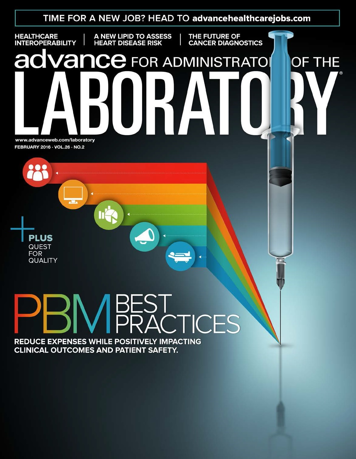Image for Joe Thomas, National Director of Patient Blood Management is featured in ADVANCE for Administrators of the Laboratory®