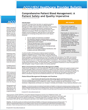 Image for cPBM: A Patient Safety and Quality Imperative