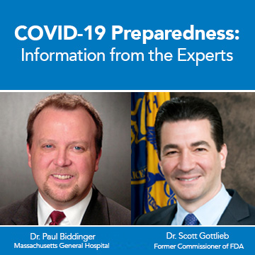 Image for COVID-19 Preparedness: Information from the Experts