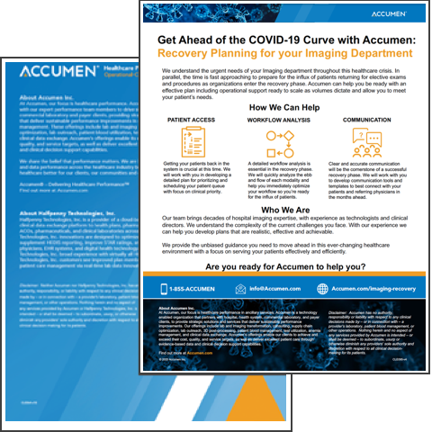 Image for COVID-19 Imaging Recovery Overview