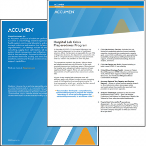 Hospital Lab Crisis Preparedness Program Overview