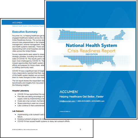 Image for Executive Summary of the National Health System Crisis Readiness Report – 2020 Edition