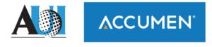 Accumen and AUI logos